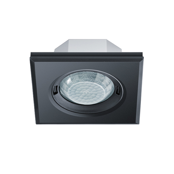 PD-FLAT 360i/8 SQUARE BLACK KNX